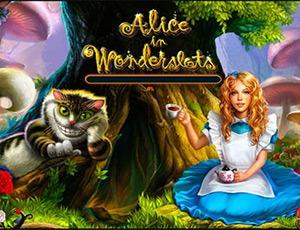 Игровой автомат Alice in Wonderland бесплатно играть онлайн